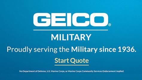 Geico Military Proudly Serving the Military since 1936. Start a quote.