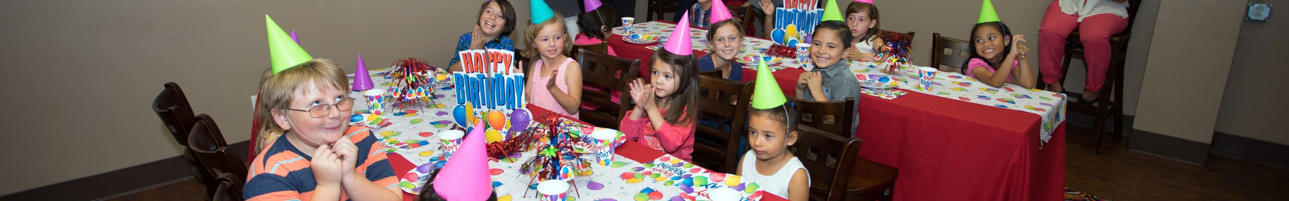 Birthday Parties/Unit Functions