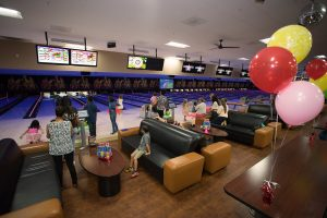 Leatherneck Lanes birthday party bowling