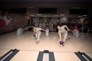 Leatherneck Lanes Unit League Bowling