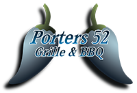 Porters 52 Grill and BBQ Logo