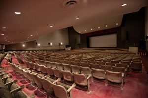 Theater Under Balcony View Seating
