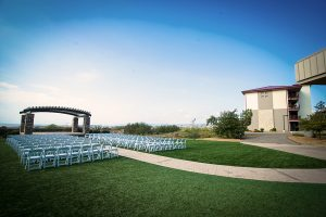 Pacific Views Event Center outdoor seating