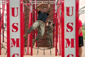 HITT course marine on bars