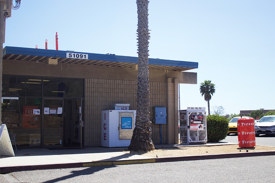 San Onofre Fuel station Building