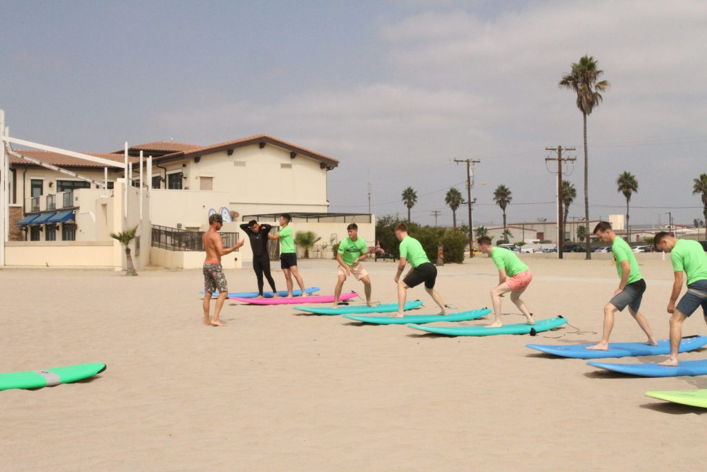 Outdoor Adventures Surf Class