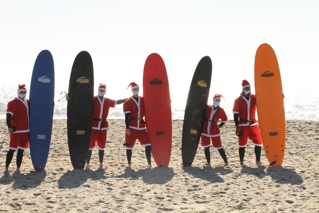Outdoor Adventures Surfing Santas