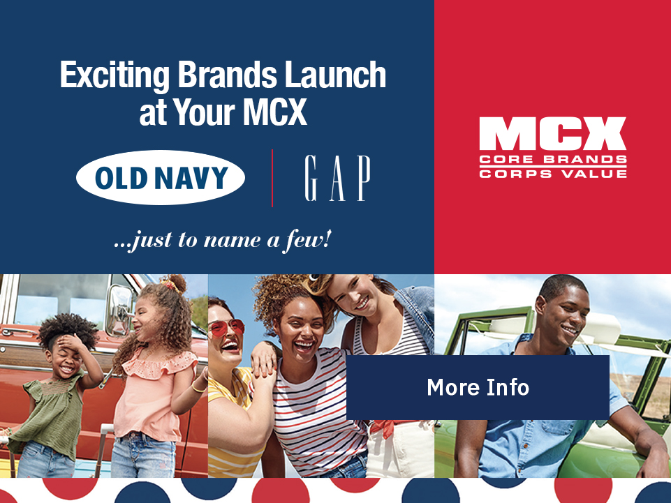 MCX: Exciting Brands Launch at Your MCX. [Button: More Info]