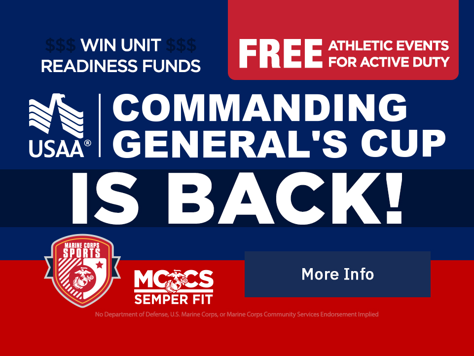 Commanding General's Cup is back! [Button: More Info]
